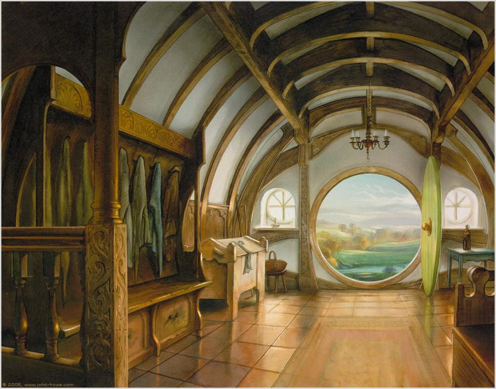 Bilbo's Front Hall